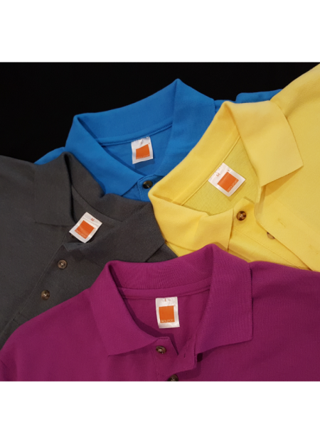Honeycomb/Pique Polo T-Shirt