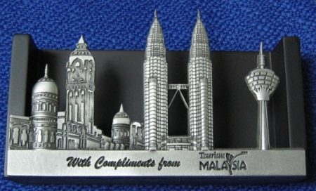 Pewter Card Holder