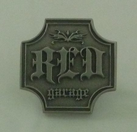Pewter Collar Pin