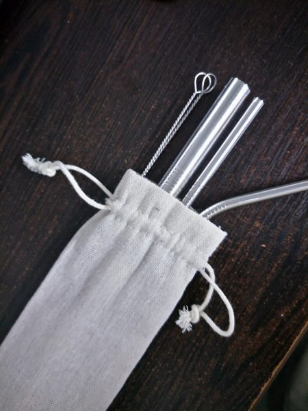 Eco Stainless Steel Straw/Reusable Metal Straw