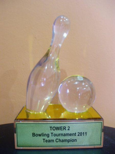 Acrylic Trophy & Plaque