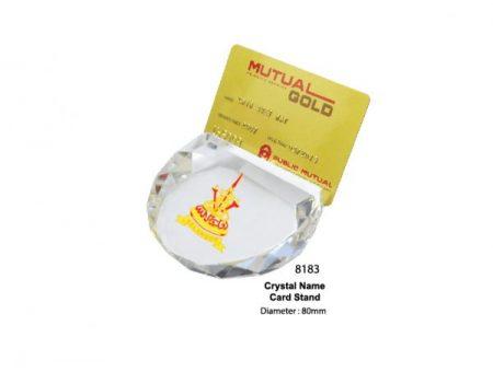 Crystal Name Card Holder
